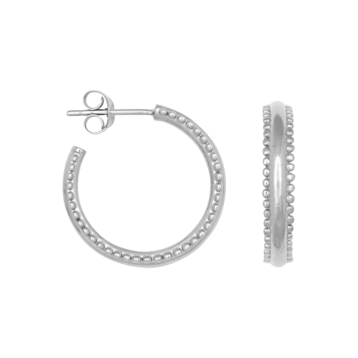 405fddf3f HomeEarringsDouble dots hoops gold – silver. Previous